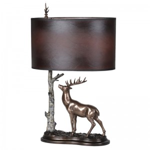 Stag under Tree Lamp